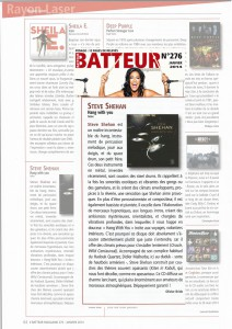Steve-Shehan-Batteur-Magazine-janvier-2014