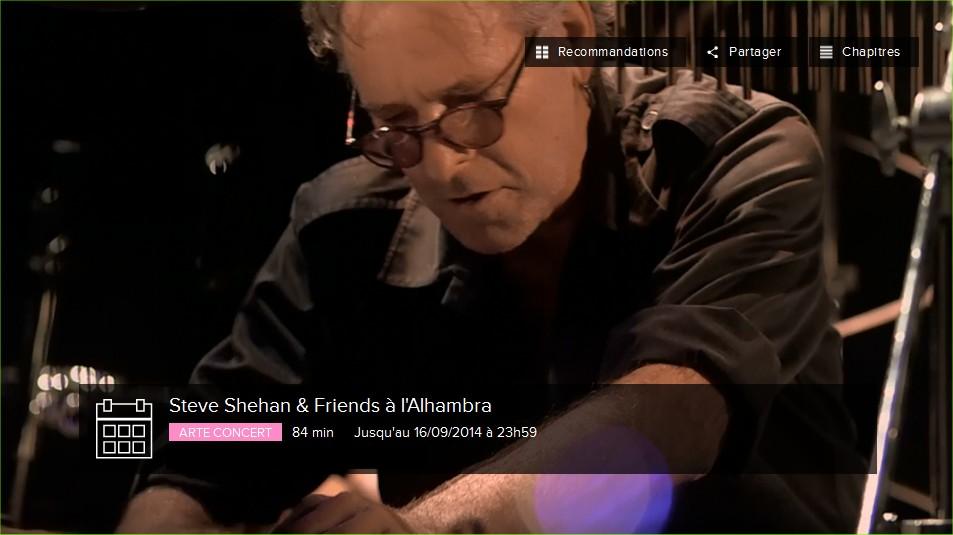 steve shehan arte concert