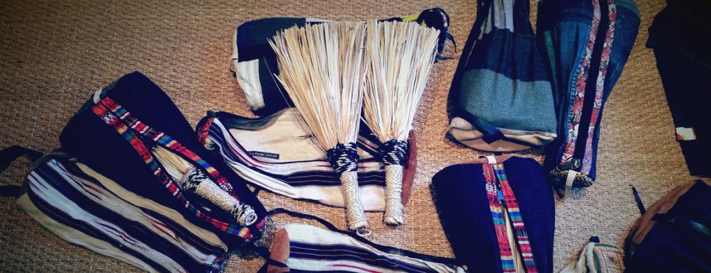 balais berbères - berebere brushes - instruments