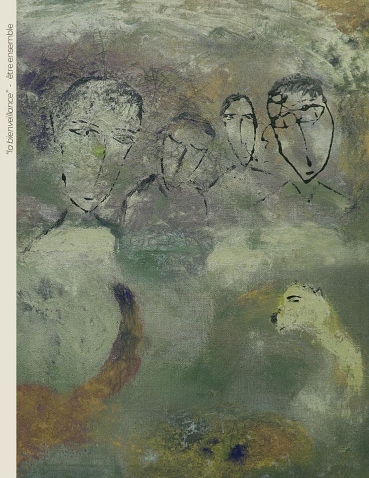 Incarnations - Peinture - Bienveillance / Etre ensemble