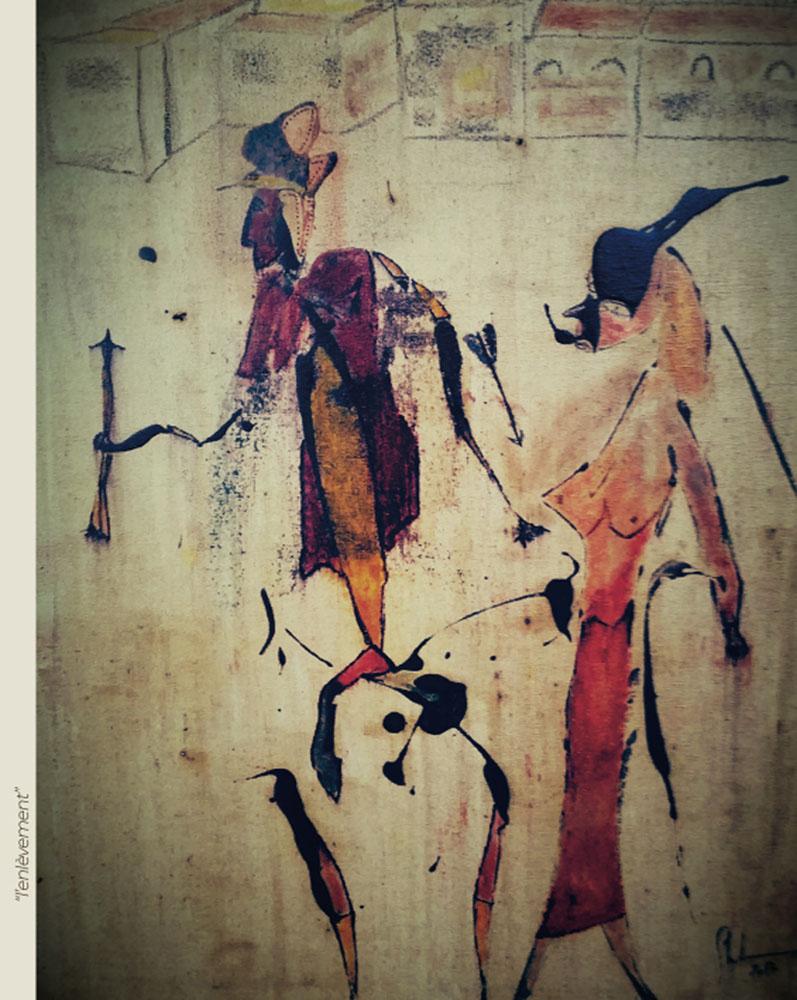 Incarnations - Peinture - L'enlèvement