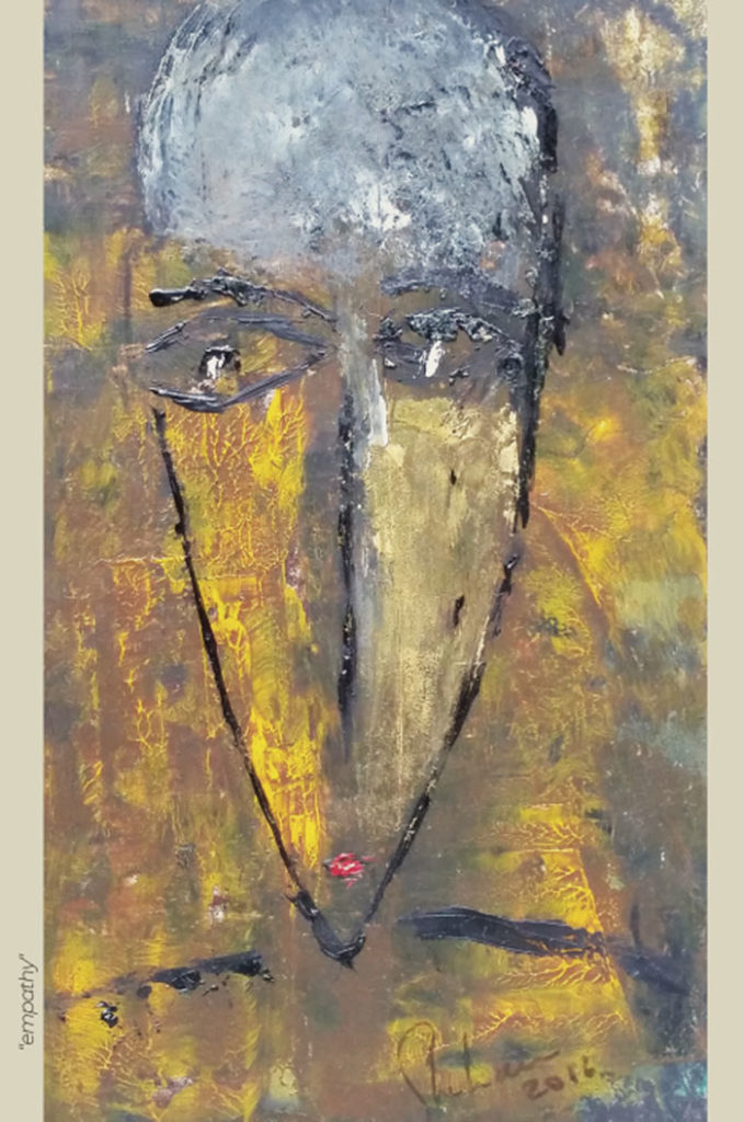 """""""Empathy"""" - Peinture - Painting - Visa Mundi - Steve Shehan"""