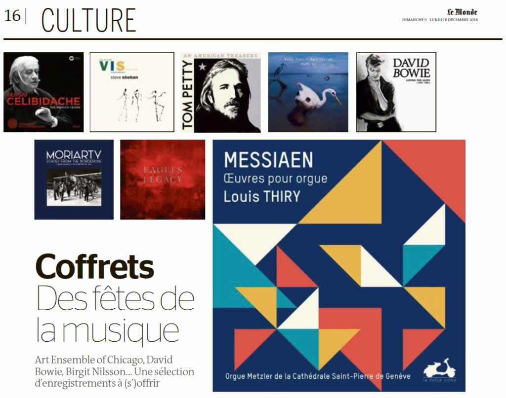 selection - musique - Le Monde 9-10/12 - Patrick Labesse - header