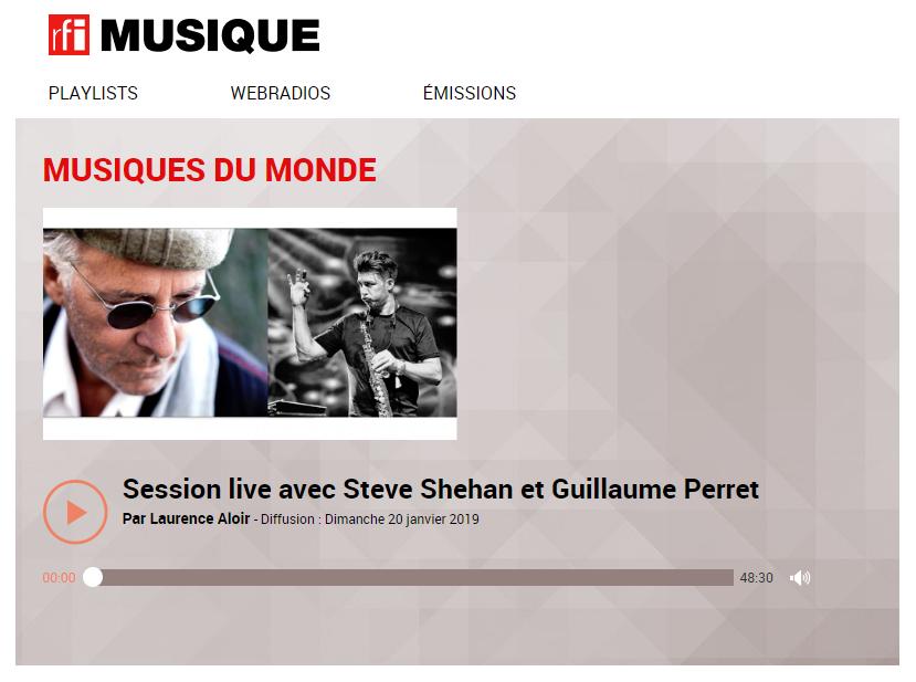 RFI Musique - Musiques du Monde - Session Live