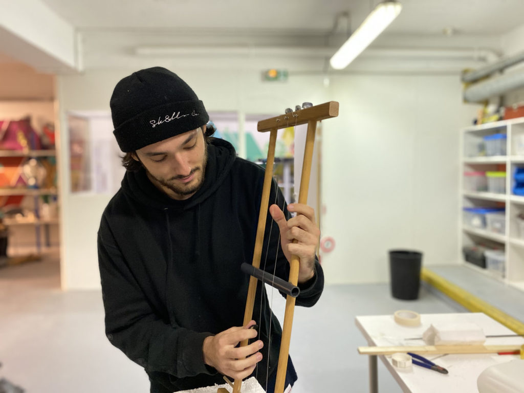 Note Verte - instrument 1