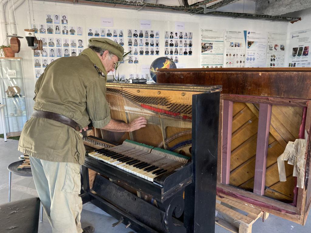Note Verte - expérimentation piano